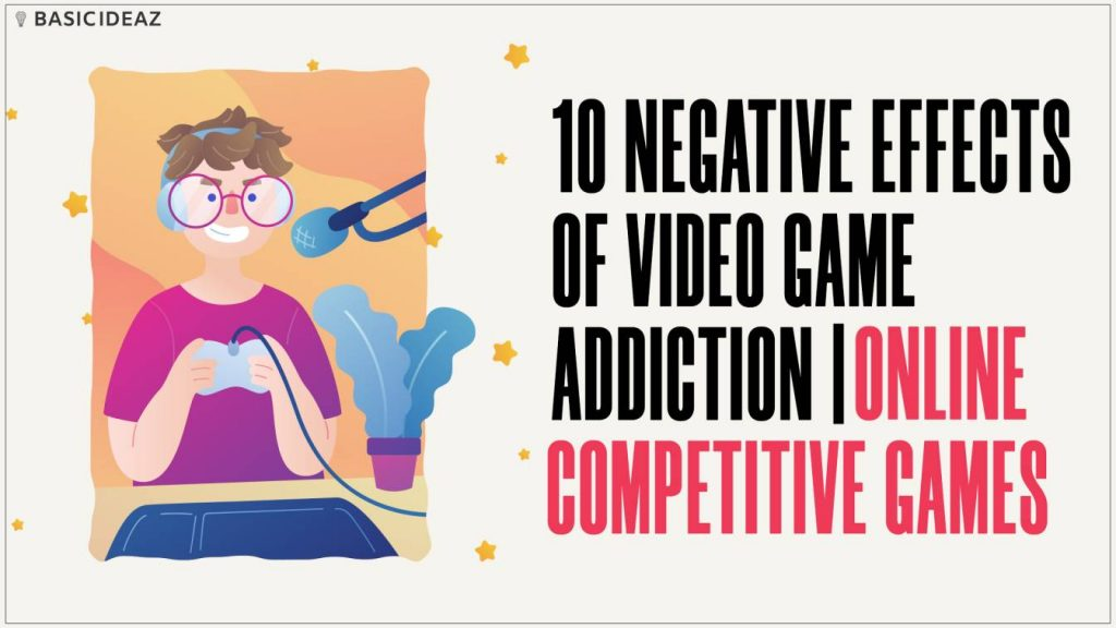 negative effects of video game addiction