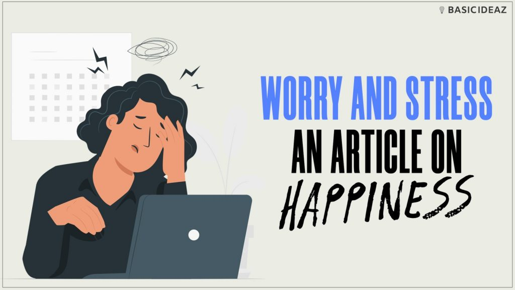worry and stress